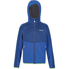 Regatta Bracknell II Softshell Jas Kinderen, nautical blue/nautical blue